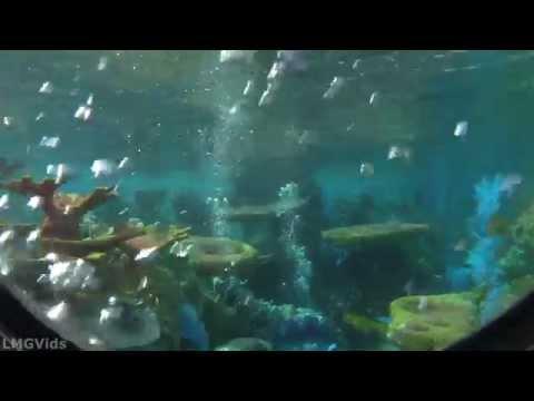 2014* Finding Nemo Submarine Voyage ride 1080p POV with Fresh Baked Disney!