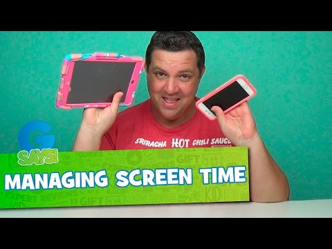 Managing Screen Time for Your Kids - G Says Parenting Children in the Video Age