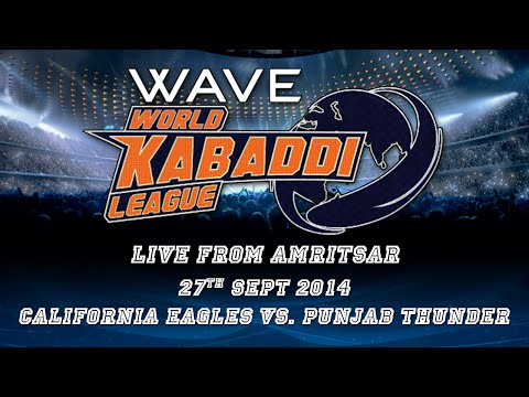 World Kabaddi League, Day 18: California Eagles Vs. Punjab Thunder