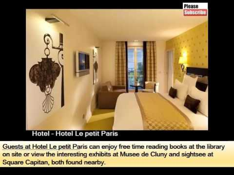 Hotel Le Petit Paris | Paris Hotels Guide With Pics And Area Info