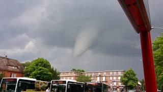 #1 Tornado Hamburg 07.06.2016 Windhose Wirbelsturm