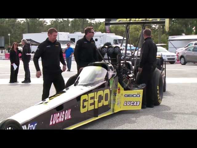 NHRA's Morgan Lucas Racing & Richie Crampton ready for Denver, CO