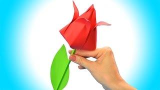 Come fare un fiore di carta facile | Origami fiori