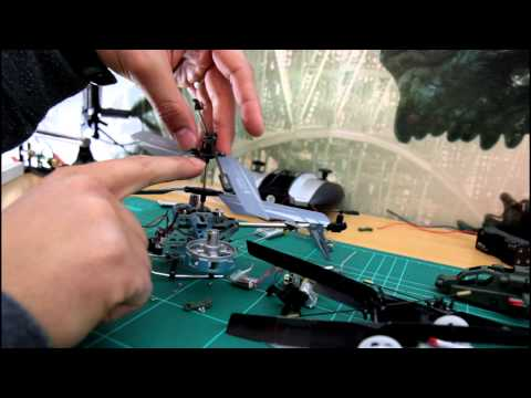 How to Fix RC Helicopter Lift or Take Off 4CH 3CH