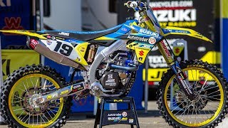 Inside Justin Bogle's Factory JGR Suzuki RMZ450 - Motocross Action Magazine