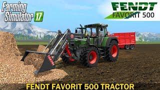 Farming Simulator 17 FENDT FAVORIT 500 TRACTOR