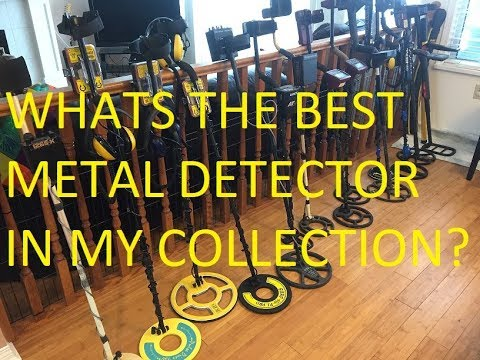 My Collection of Metal detectors With Reviews