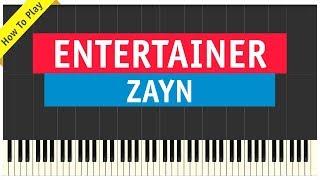 Download Lagu Zayn - Entertainer - Piano Cover (Tutorial & Sheet Music) Gratis STAFABAND