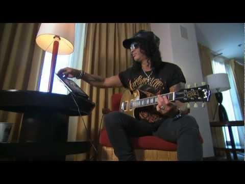 Slash video demo of the OFFICIAL Slash App - AmpliTube Slash for iPhone, iPod touch, iPad, Mac/PC