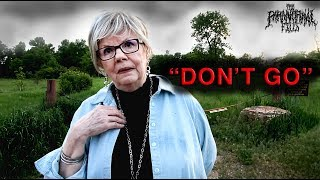 This Psychic WARNED ME Not To GO Into This HAUNTED Park... But I Went In Anyways, ALONE At NIGHT.