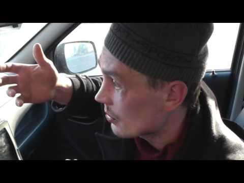 Таксист-боксер и его клиент-вампир ул. Попова. Место происшествия 02.06.2017