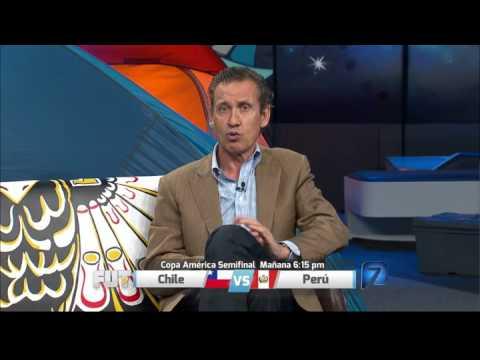 Jorge Valdano analiza las semifinales entre Chile vs Perú