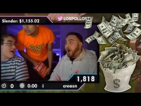 LosPollosTV Gets Over $2000 in Donations and Freaks Out thumbnail