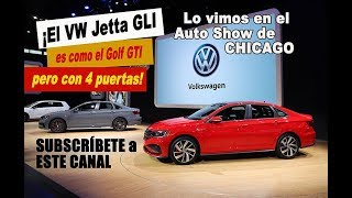 VW devela el Jetta GLI en Chicago 2019