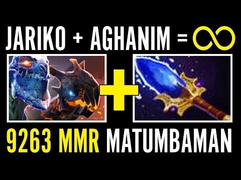 Amazing Infinite Ultimate Matumbaman Jakiro Aghanim's Gameplay Dota 2