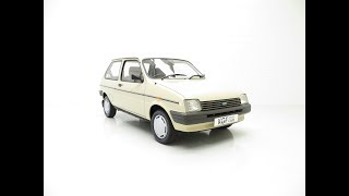 A Rare Surviving Austin Metro Automatic with an Incredible 16,464 Miles from New - SOLD!