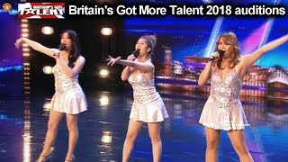 "Miss Tres  Filipino Singing Group ""Sexbomb"" FANTASTIC Auditions Britain's Got Talent 2018 BGT S12E05"