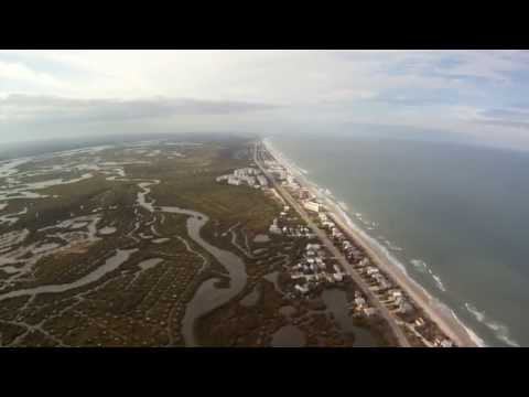 Flight over New Smyrna Beach, FL