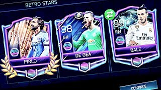 GREATEST RETRO PACKS IN FIFA MOBILE - 3 Retro Star Masters in One pack! Best retro packs,Messi,Tots