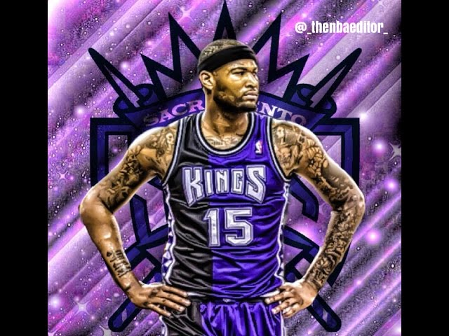 How To Make Sports Edit | Demarcus Cousins | Speed Art | Apps Only