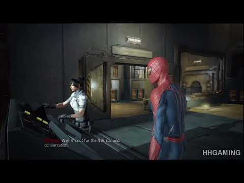 the amazing spiderman walkthrough - part 4 HD gameplay no commentary spider-man PS3 spider man game