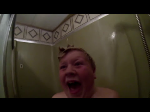 Dad Pranks Son With Shower Scare