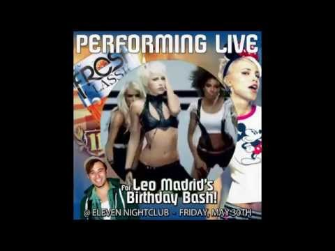 LEO MADRID's B-DAY BASH - ARIA PERFORMS LIVE AT ELEVEN NIGHTCLUB