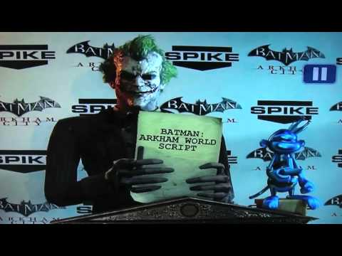 Batman Arkham World??? (2011 Spike Video Game Awards)