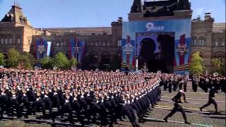 Grand Parade in honor of Victory Day in Moscow 9.05.2014 Парад в честь  Победы в Москве.