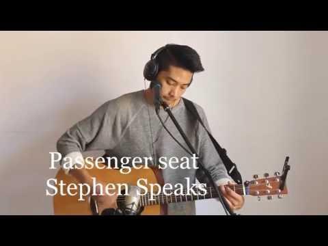 Passenger Seat - Cover (Stephen Speaks) Kevin Geissler Galicia