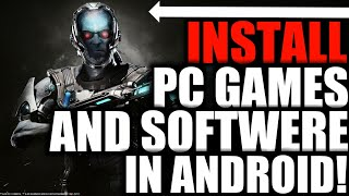 How to Install exe files/Games on android | Without Root-November 2017