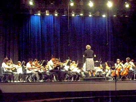 Wawona Middle School Begining Orchestra at Fresno High
