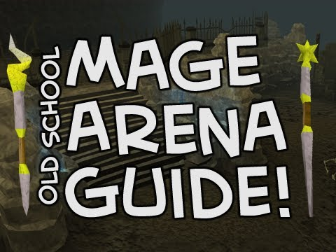 Old School RuneScape Mage Arena Guide – How to get a god cape/spells!