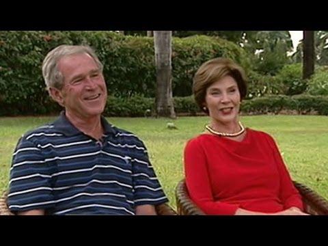 George W. Bush, Laura Bush 'This Week' Interview