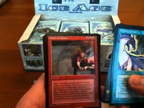 Ice Age Booster Box Unboxing - Part 1