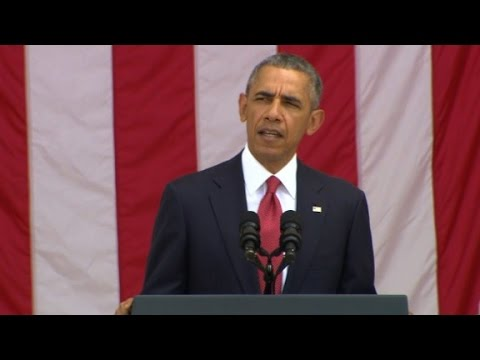 Barack Obama's entire Memorial Day speech