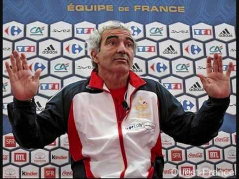 DOMENECH critique Laurent Blanc