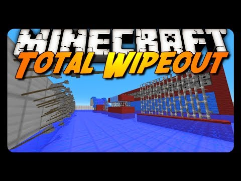 Minecraft: TOTAL WIPEOUT! (Parkour Mini-Game)