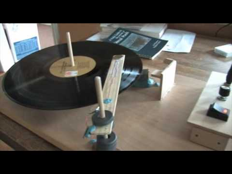 Homemade Electric Record Player
