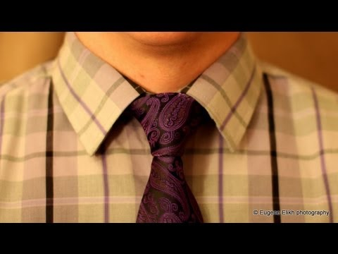 How to tie a tie - made simple (Windsor Knot)