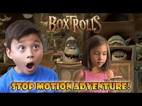 THE BOXTROLLS to the RESCUE! Stop Motion Adventure!