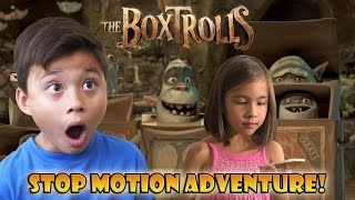 THE BOXTROLLS to the RESCUE! Stop Motion Adventure! [EvanTubeHD CLASSIC WEEK]