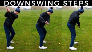 HOW TO START THE GOLF DOWNSWING CORRECTLY - Create The Power Platform