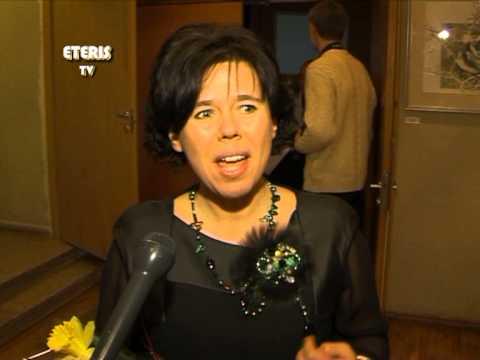 ETERIS TV 2013.02.26 Vasario 16d. atidaryta tradicinė Prienų krašto menininkų  darbų paroda