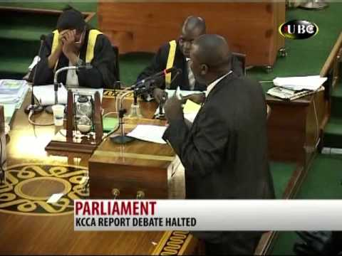 Parliament on KCCA report