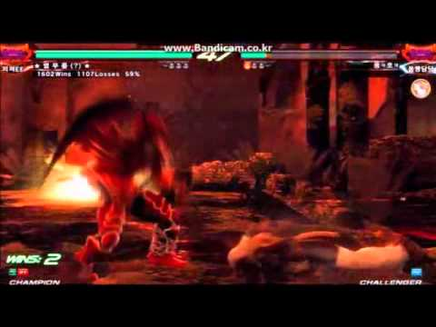 Tekken 6BR Knee(?) TEkken God by kitoyamo