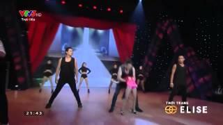 Bước Nhảy Hoàn Vũ Nhí: Đinh Thùy Dương - Jazz Funk - Ngày 19/09/2014