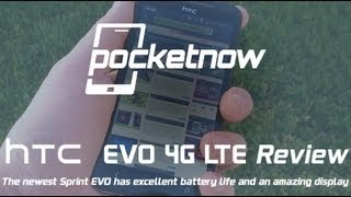 Sprint HTC EVO 4G LTE Review