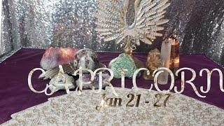 CAPRICORN FINALLY TRUTH AND COMPLETION - PSYCHIC TAROT FORECAST JANUARY 21 - 27