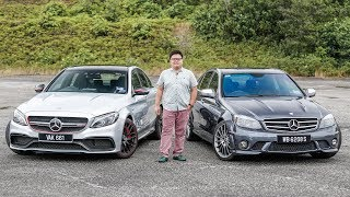 Mercedes-AMG C63 sound comparison – W204 6.2 NA V8 vs W205 4.0 twin-turbo V8